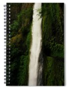 The Tunnel Behind Tunnels Falls Spiral Notebook