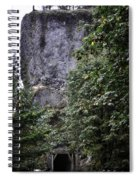 The Tunnel Below The Rock Spiral Notebook