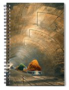 The Tunnel, From Coloured View Spiral Notebook