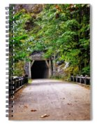 The Tunnel On The Scenic Route Spiral Notebook