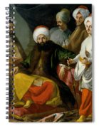The Turkish Ambassador And His Entourage At The Court Of Naples Spiral Notebook