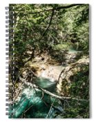 The Turquoise Waters Of The Forest River No2 Spiral Notebook