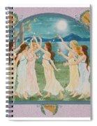 The Twelve Dancing Princesses Spiral Notebook