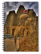 The Twisting Winds Of The Square Spiral Notebook