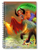 The Two Beasts Of Revelations Spiral Notebook