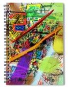The Tzaddik Lives On Emunah 22b Spiral Notebook