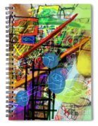 The Tzaddik Lives On Emunah 22c Spiral Notebook
