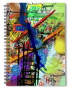The Tzaddik Lives On Emunah 22d Spiral Notebook