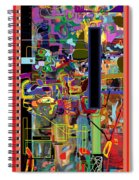 The Tzaddik Lives On Emunah 4 Spiral Notebook