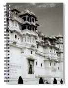 The Udaipur City Palace  Spiral Notebook