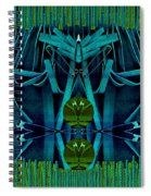 The Under Water Temple Spiral Notebook