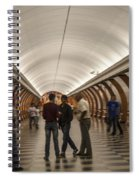 The Underground 1 - Victory Park Metro - Moscow Spiral Notebook
