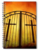 The Unforgiven  Spiral Notebook
