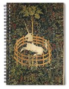 The Unicorn In Captivity Spiral Notebook