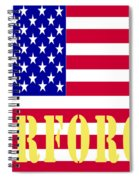 The United States Airforce Spiral Notebook
