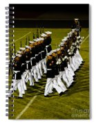 The United States Marine Corps Silent Drill Platoon Spiral Notebook