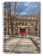The University Of Wisconsin Education Building Spiral Notebook