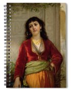 The Unwelcome Companion , C.1872-73 Spiral Notebook