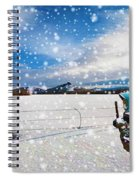 The Unwilling Winter Spiral Notebook