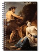 The Upbringing Of Zeus Spiral Notebook