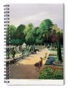 The Upper And Lower Terrace Gardens Spiral Notebook