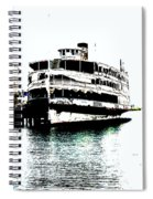 The Uss Columbia 8.5.14 Spiral Notebook