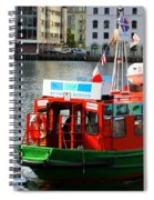 The Vagen Harbour Ferry Spiral Notebook
