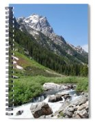 The Valley Beyond Spiral Notebook