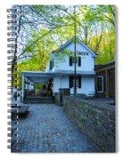 The Valley Green Inn On Forbidden Drive Spiral Notebook