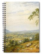The Valley Of Wyoming Spiral Notebook