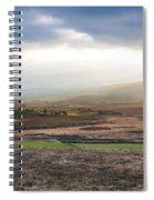 The Valleys In Wicklow Ireland Spiral Notebook