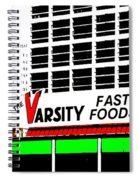 The Varsity Atlanta Pop Art Spiral Notebook