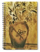 The Vase Spiral Notebook