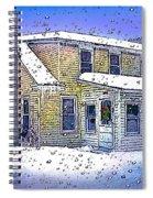 The Vermont Homestead Spiral Notebook