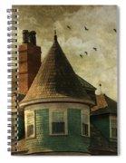 The Victorian Spiral Notebook