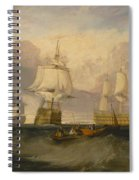 The Victory Returning From Trafalgar Spiral Notebook