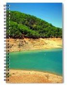 The View At Shasta Lake Spiral Notebook