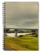 The View From Crown Point New York Spiral Notebook