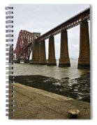 The View Of The Forth Bridge Spiral Notebook