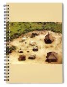 The Village In Africa Spiral Notebook
