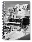 The Village Of Oia 2 Spiral Notebook