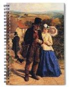 The Village Postman Spiral Notebook