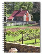 The Vineyard Barn Spiral Notebook