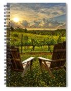 The Vineyard   Spiral Notebook