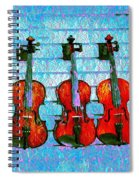 The Violin Store Spiral Notebook