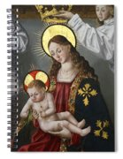 The Virgin And The Child With The Parrot Spiral Notebook