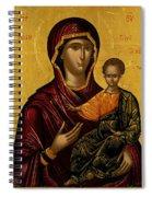 The Virgin Hodegetria Spiral Notebook