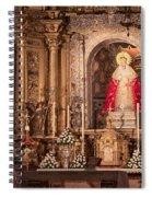 The Virgin Of Hope Spiral Notebook