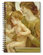 The Virgin Of The Angels Spiral Notebook