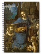 The Virgin Of The Rocks Spiral Notebook